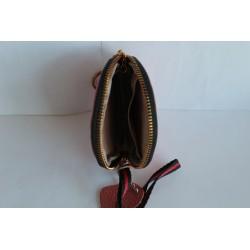 Кожаный кошелек- ключница С31