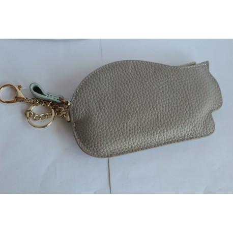 Кожаный кошелек- ключница С33
